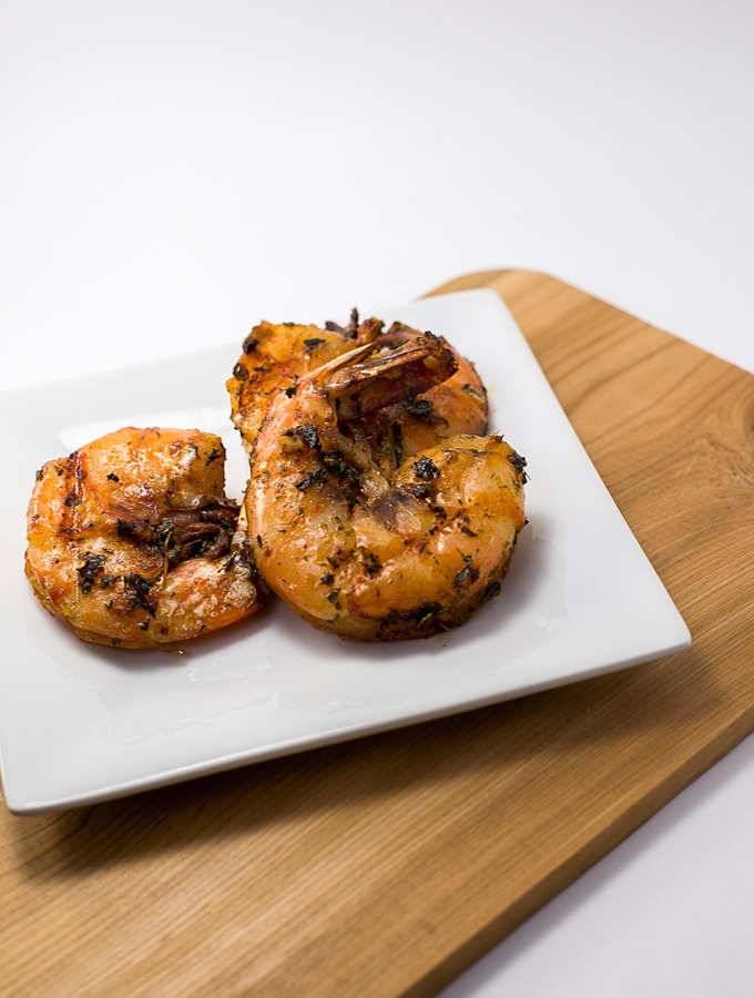 ... primal, clean eating garlic and herb marinade recipe for your shrimp