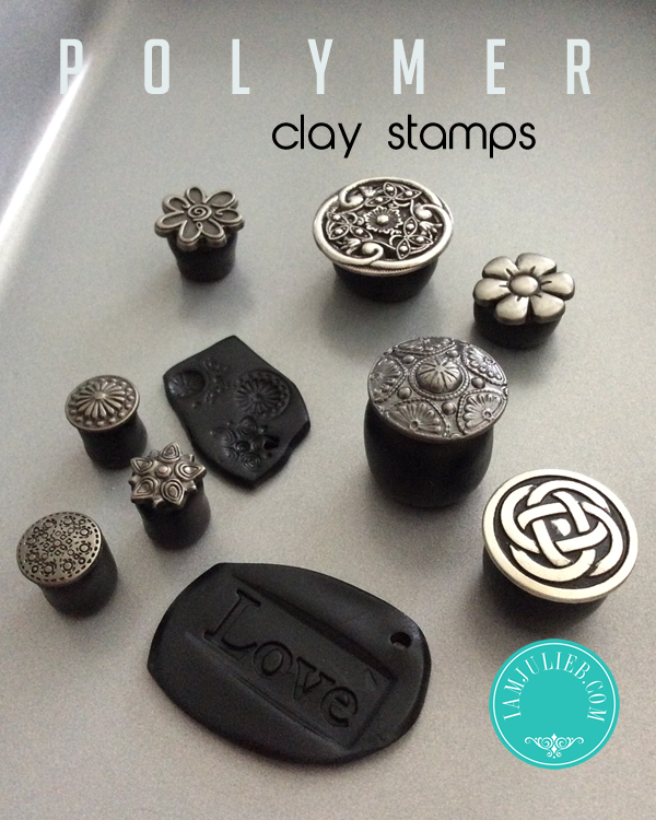 DIY Polymer Clay Stamps