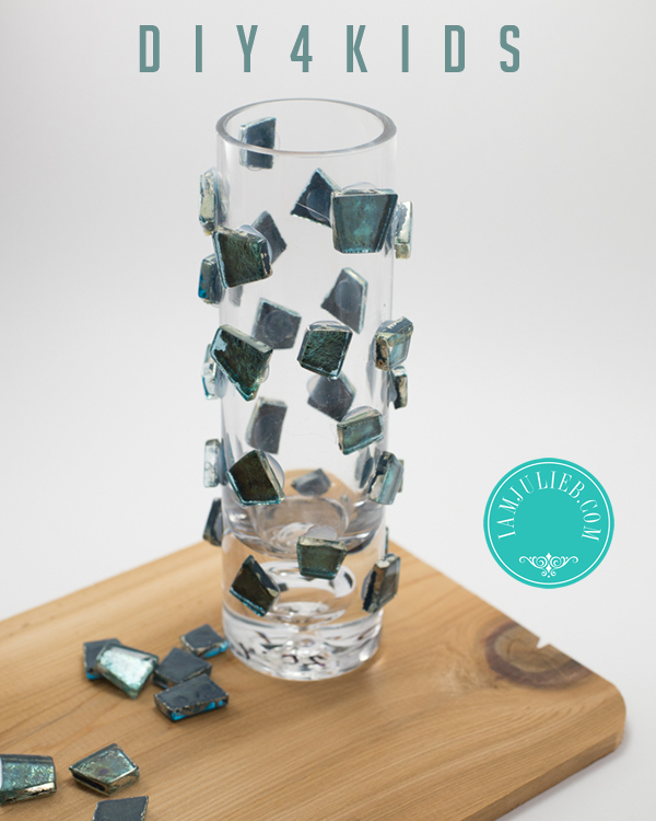 DIY 4 KIDS GLASS VASE
