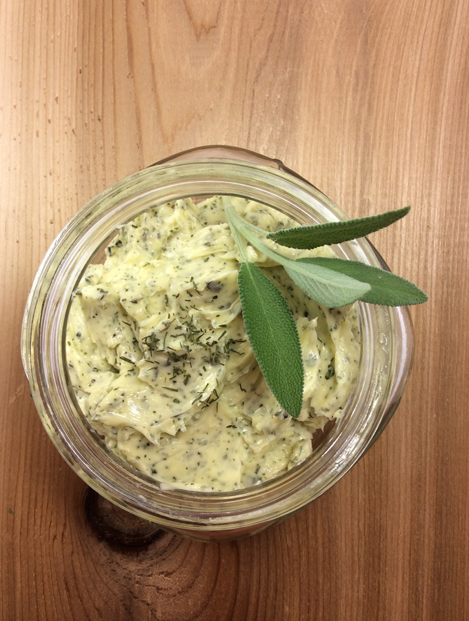 Easy Garlic Herb Butter