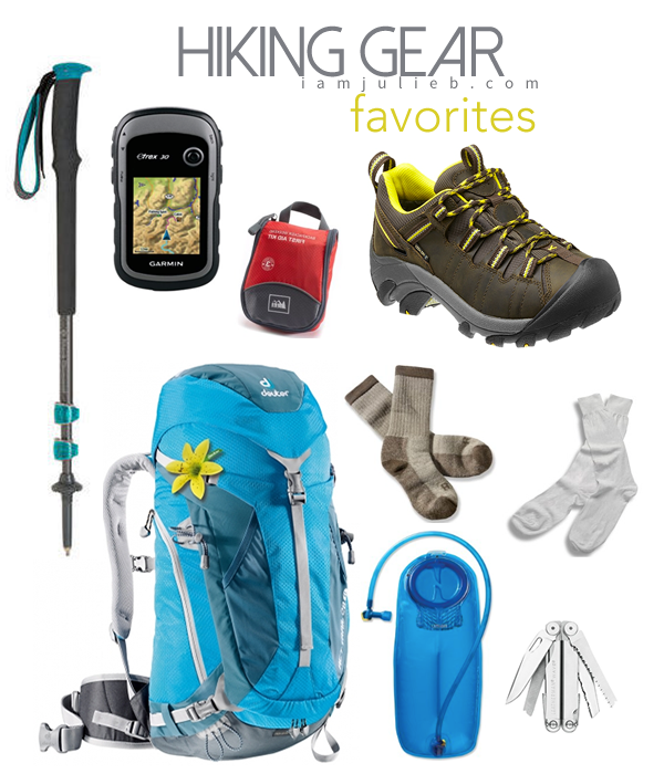 HIKING GEAR FAVORITES
