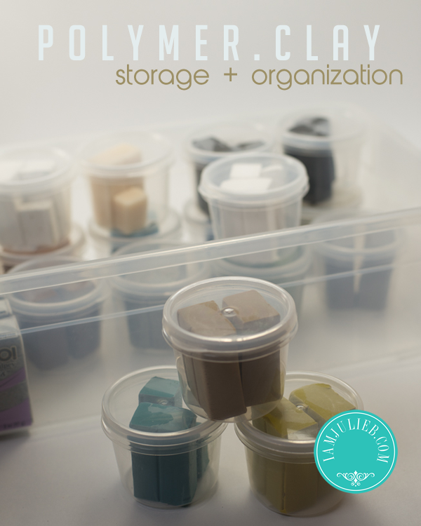Polymer Clay Storage Organization