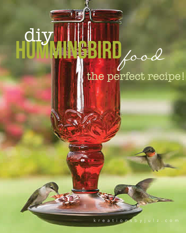 ORGANIC HUMMINGBIRD FOOD