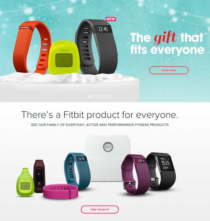 FitBit® Get to Stepping