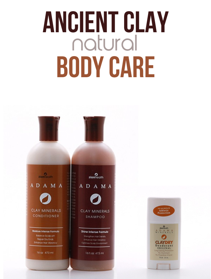 Ancient Clay Body Care Products