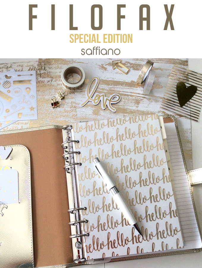 FiloFax Special Edition A5 Planner Setup